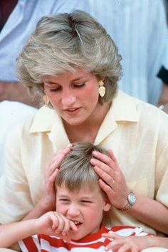 Great Mother and Lovely Caring for her Own Kids BEAUTIFUL!!!Princess Diana
