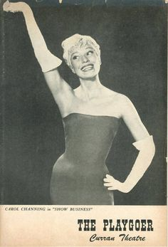Carol Channing in The Vamp Broadway Show | Images: Theatre ...