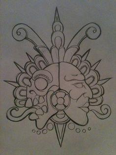 aztec duality life and death by piglegion.deviantart.com on @deviantART