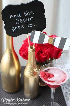 Oscar Photo Booth Props