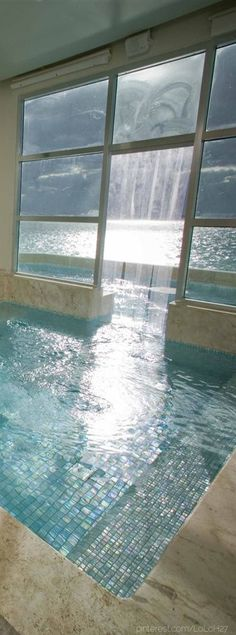 Unique features like this indoor outdoor pool bring incredible value to any home.