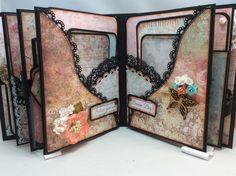 "STAMPERIA ""DREAM"" MINI ALBUM- 8-1/2″ X 6-1/2″ By Valeri - Scrapbooking and Paper Crafts J&S Hobbies and Crafts"