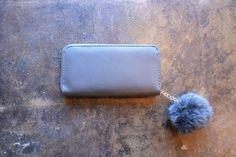 Love Fuzz Wallet - Grey