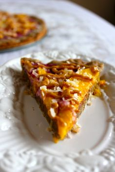 Mango Breakfast Pizza