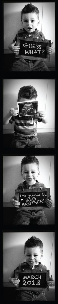 Big brother photo strip