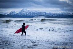 Surfing, Alaskan Style