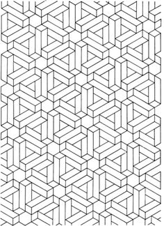 Optical Illusion 13 Coloring Page From Illusions Category Select 20946 Printable Crafts Of