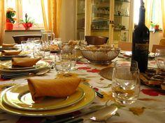 I momenti più belli della giornata sono quelli passati in famiglia, il pranzo e la cena. Tutti insieme seduti a tavola, una tavola sempre ben apparecchiata! - Doimocasamia