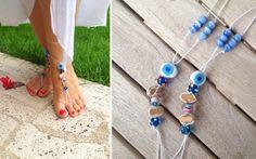 barefoot sandals ayak takısı sandalet
