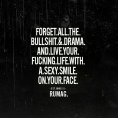 Live your fucking life