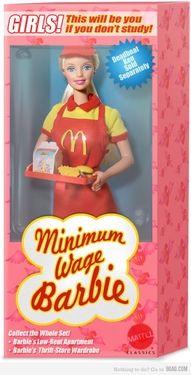 I had Barbie Mcdonald's when I was a kid