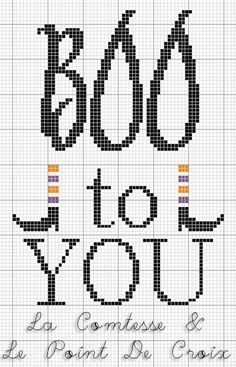 Freebie: Boo To You