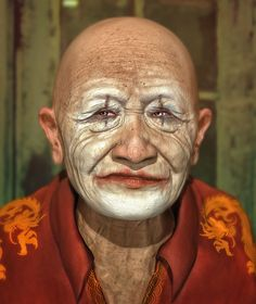 Old_man - 3D Sculpt on Behance