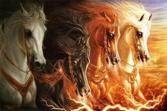 end times signs horses..Apocalypse