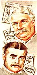 Sir William Gilbert (1836-1911) And Sir Arthur Sullivan (1842-1900)