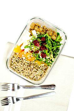 Salade complète d'hiver