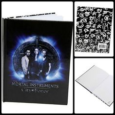 Mortal Instruments CITY of BONES Journal! Runes*Clary*Simon*Jace Hardbound
