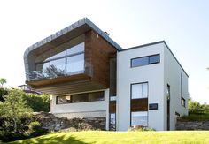 Inspirasjon: Fire flotte funkishus bygget med Leca - Byggmakker Home Fashion, House Ideas, Cottage, Cabin, Mansions, Architecture, House Styles, Home Decor, Modern