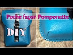 Coudre une Poche façon Pomponette - Tuto Couture Débutant - DIY - YouTube Blog Couture, Dior Haute Couture, Sewing Online, Diy Purse, Couture Sewing, Bag Patterns To Sew, Beautiful Bags, Sewing Hacks, Sewing Tips