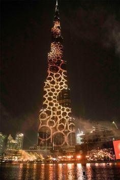 The Golden #Logo of Dubai's Expo 2020