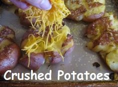 Crushed Potatoes Recipe great side dish with any meal