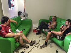 Fitz Madrid talking with Corey Taylor & Randy Blythe!