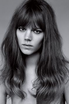 Freja Beha Erichsen: January 2015 Vogue Cover Beauty (Vogue.com UK)