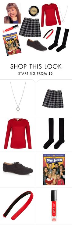 """""""Celebrity Style- Stephanie Tanner"""" by xoangel33 ❤ liked on Polyvore featuring FOSSIL, Uniqlo, Tasha, Henri Bendel and Stila"""
