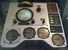 Vostok 1 control panel