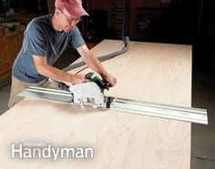 Benefits of a Track Saw | The Family Handyman
