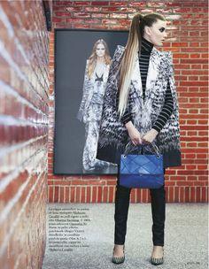 Street Style | Michelle Mccallum | Olivia Graham #photography | Grazia Italia No.32 6th August 2012