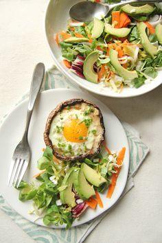 #Recipe: Parmesan and Portobello Baked #Eggs