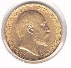Australia – 1 Sovereign 1904-M (Melbourne) Edward VII – gold
