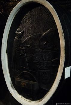 Kutjevo - barrel with carving