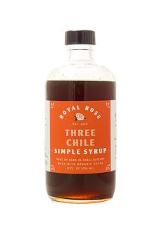 Image of Three Chiles Syrup