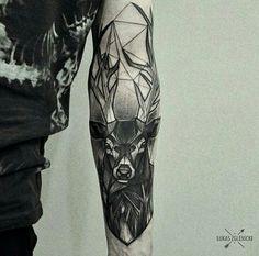 Shadowy stag