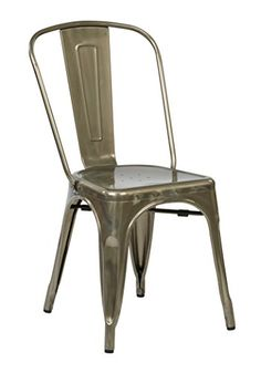 Office Star Bristow Metal Seat and Back Armless Chair Gun Metal 4Pack >>> Click image to review more details. (This is an Amazon Affiliate link and I receive a commission for the sales)