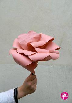 fleur en papier,activite enfant,DIY,tutorial,idee cadeau,fête des meres,cadeau fete des meres 6 blog
