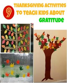Thanksgiving activities that will help kids learn about gratitude