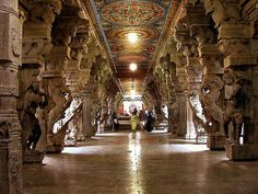 One of the oldest cities in South Asia, MADURAI, India on the banks of the River Vaigai