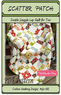 Scatter Patch Downloadable PDF Quilt Pattern Carlene Westberg