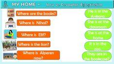 3. Sınıf İngilizce dersi My Home ünitesi etkinliği Classroom, Books, Class Room, Libros, Book, Book Illustrations, Libri