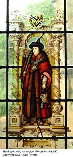 Saint Thomas More at Harvington Hall, Harvington, UK