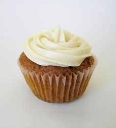 Carrot Cake Cupcakes Recipe with Cream Cheese Frosting  Try this tasty low calorie dessert recipe to satisfy your sweet tooth. These Carrot Cake Cupcakes are just 4 Points + each, and that includes the homemade cream cheese frosting! Definitely a healthier version than traditional Carrot Cake Cupcake Recipes.