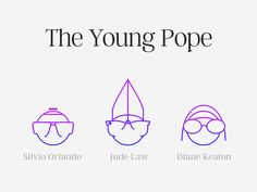 The Young Pope Icons by Kyril Kulikov #Design Popular #Dribbble #shots