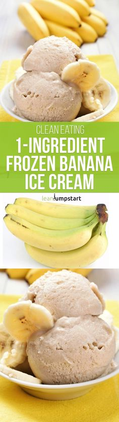 For this frozen banana ice cream you need just 1 ingredient. It is for me the…
