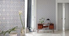 Explore the latest collection of Designers Guild wallpaper including stunning plains and our signature printed designs. Perfect for any home. Luxury Wallpaper, Love Wallpaper, Fabric Wallpaper, Cool Wallpapers 4k, Latest Wallpapers, Designers Guild Wallpaper, Designer Wallpaper, Latest Wallpaper Designs, Geometric Wallpaper