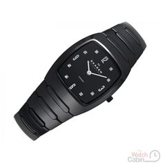 Skagen 914SBXC Ladies Watch - Ceramic strap, black, folding clasp - £135.00