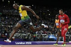 The Fastest Man Alive strikes gold again in London. Usain Bolt successfully defends his 100-meter Olympic title. http://ti.me/O3cy3h