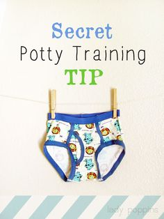 Lady Poppins: My Secret Potty Training Tip Toddler Underwear, Toddler Potty Training, Toilet Training, Toddler Fun, Toddler School, Training Tips, Parenting Hacks, Lady, Baby Kids